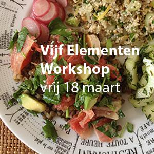 vijf elementen voeding opleiding