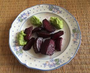 bietjes met avocadodip