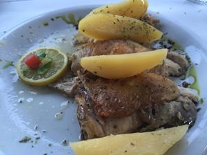 kip met citroen uit de stone oven